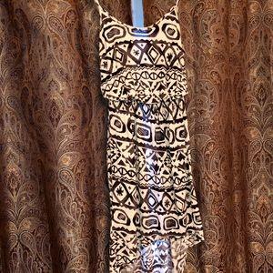 Fiancee Dresses - Tribal high low dress